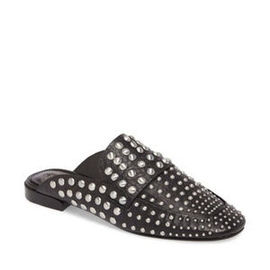 Shoes - Revolve Vince Camuto Studded Mule Loafer Slides